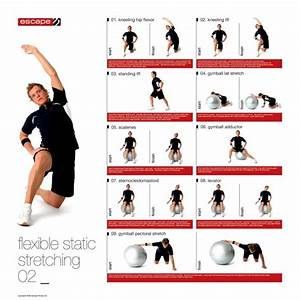 Male Static Stretching Chart | Static stretching ...