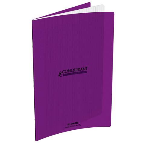 fourniture bureau conquérant cahier 96 pages 210 x 297 mm seyes grands