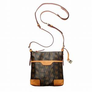 dooney bourke signature letter carrier crossbody bag in With letter carrier bag