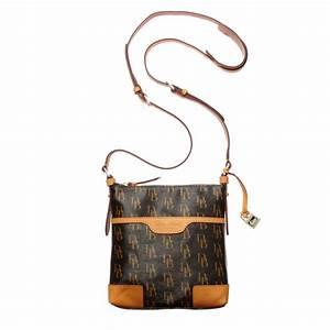 dooney bourke signature letter carrier crossbody bag in With letter carrier satchel