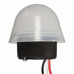 Adjustable Sensitive Auto On Off Photocell Street Light