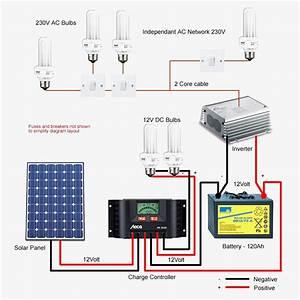 Solar Panel Diagram Wiring