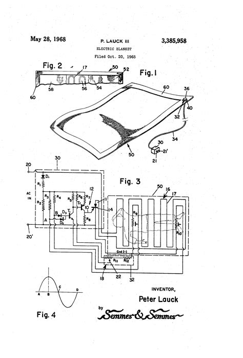 patent us3385958 electric blanket patents
