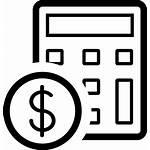 Budget Icon Icons Management Business Symbol Core