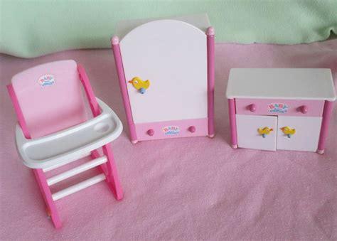 Mini Baby Born Puppenhaus Möbel Weiße Sonderedition
