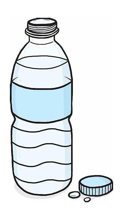 Bottle Clipart Plastic Bottles Vector Water Plastik