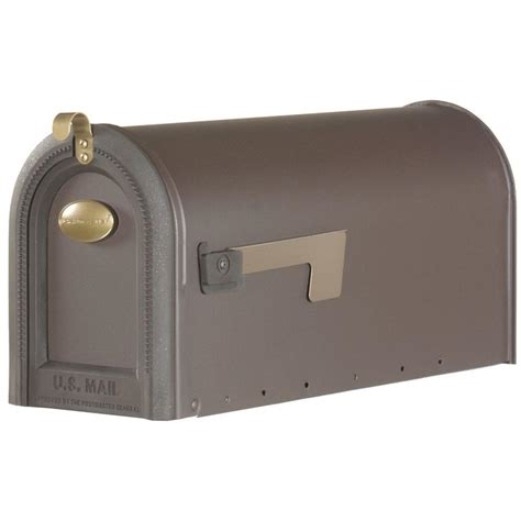 gibraltar mailboxes windmere post mount rural mailbox