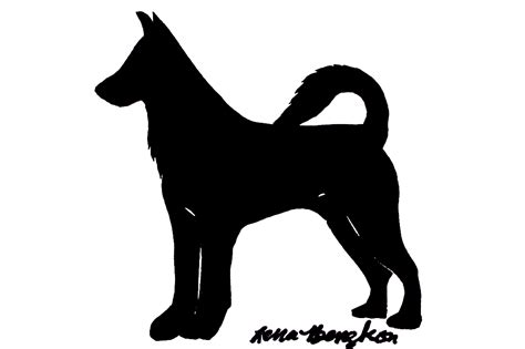 dog silhouette wallpaper wallpapersafari