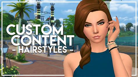 The Sims 4: Custom Content Finds   Maxis Match Hairstyles