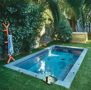 un bassin dans le jardin idee ete amenagement With piscine avec liner gris clair 0 swimming pools swimming pools magiline