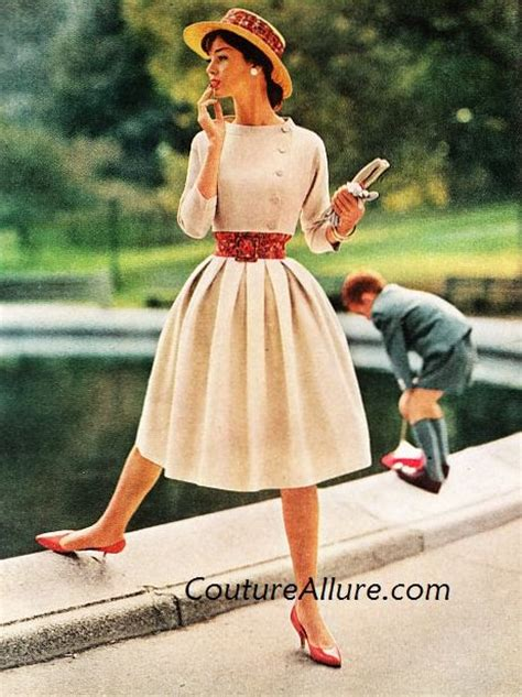 couture allure vintage fashion betty barclay dress