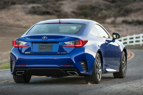 lexus rc coupe adds turbo      awd models