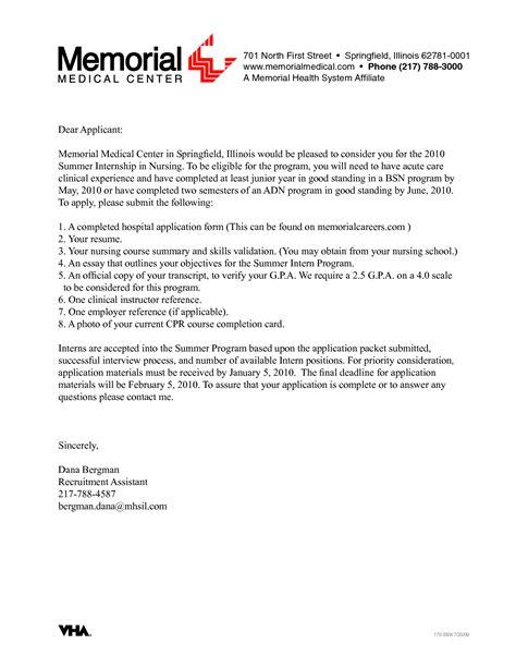 nursing internship resume template cover letter 48 nursing cover letter exles nursing cover letter exle nursing resume