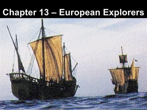 ch  european explorers