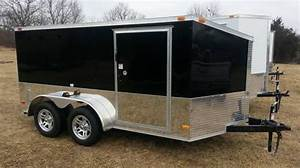 91 best cargo trailers images on pinterest enclosed With 7x12 garage door