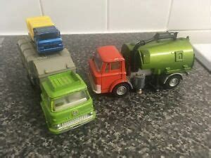 DINKY TOYS 451 & 978 Johnston Road Sweeper & BEDFORD ...