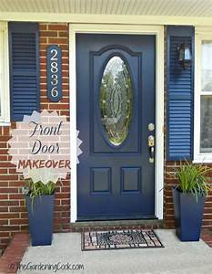 Tips for a Front Door Makeover - Before and After - The