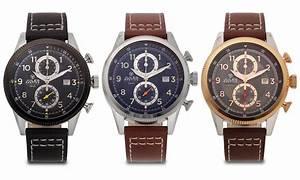 Jules Breting Adama Men's Swiss Chronograph Watch   Groupon