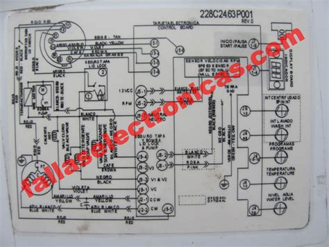 diagrama lavadora mabe 12 5 kilos modelo lma12832pbaxs fallaselectronicas