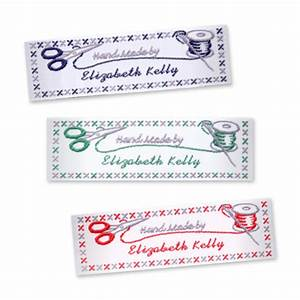 sewing craft labels wide craft labels stitch With craft labels sew in