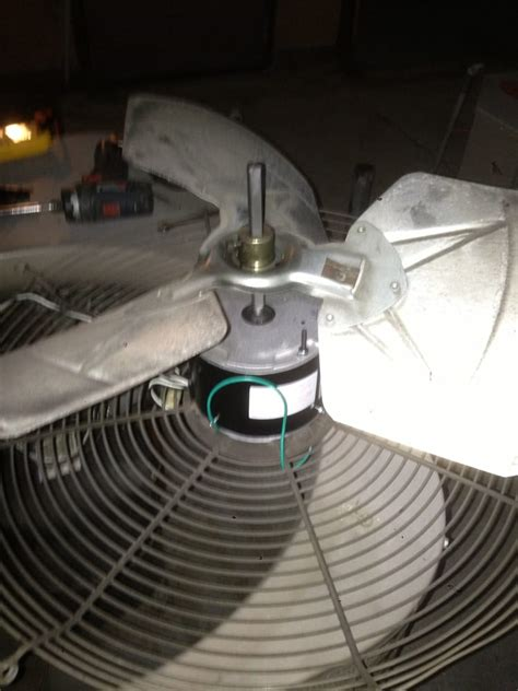 ac condenser fan motor replacement air conditioning repair in studio city condenser fan