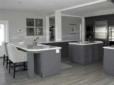 gray kitchen cabinets with hardwood floors bedroom plans designs grey kitchen with floors grey