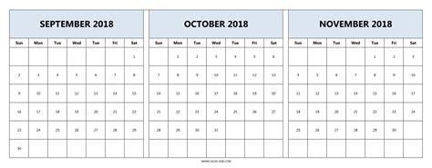 calendar  september october november qualads