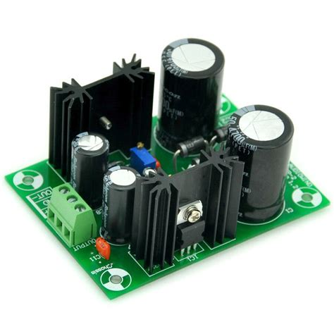 power supply board kit pcb based  lm lm ic ebay