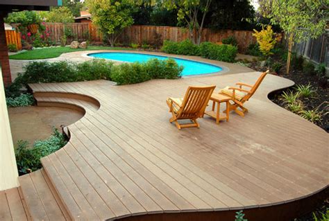 above ground pool deck furniture ideas pool design ideas