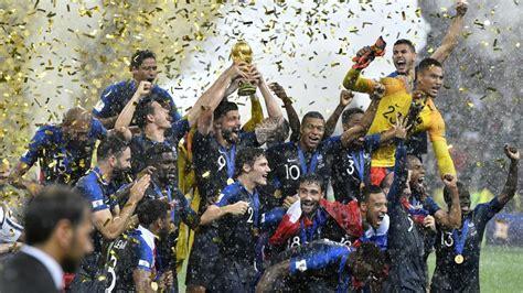 World Cup Final France Croatia Highlights