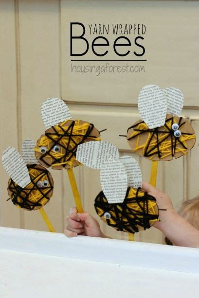 Wrapped Yarn Bees