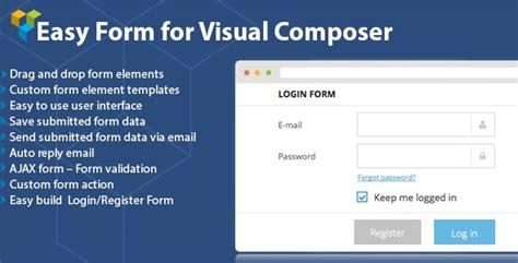 visual composer templates dhvc form v2 0 4 form for visual composer template free graphics free