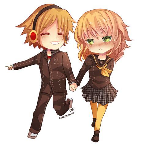 anime couple cute chibi chibi couple commission for koromarimo by kurama