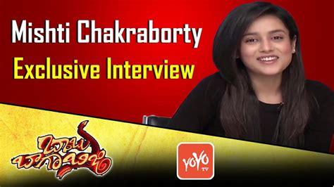 Babu Baga Busy Movie Heroine Mishti Chakraborty Exclusive ...