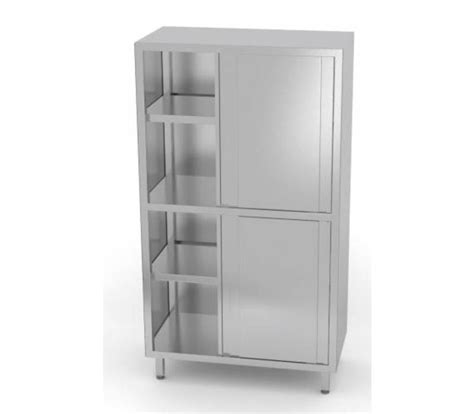 Sliding Cupboard Shelves by Xxlselect Crockery Cupboard Ss 4 3 Sliding Shelves