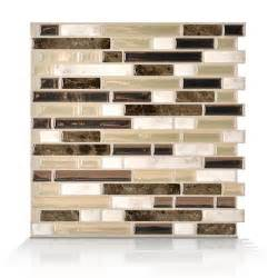 smart tiles 6 pack 10 x 10 bellagio bello peel and stick