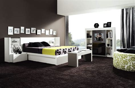 chambre a coucher contemporaine decoration chambre a coucher contemporaine visuel 1