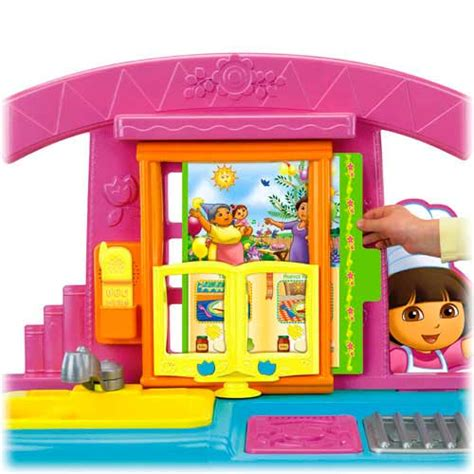 amazon com fisher price dora fiesta favorites kitchen