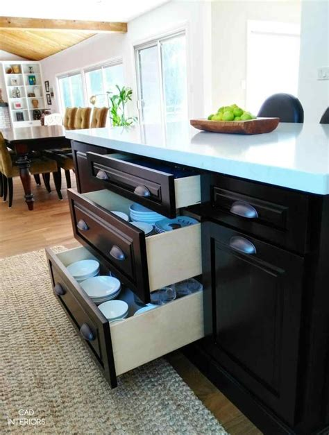 kitchen with storage room and clever ideas to upgrade your kitchen island with 6550