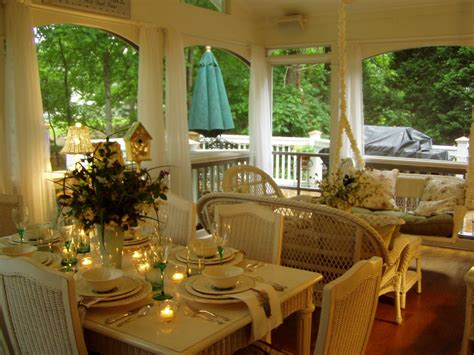 screened porch furniture porch traditional with outside