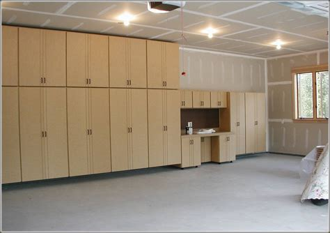 Make Cheap Garage Cabinets by Diy Garage Cabinets To Make Your Garage Look Cooler Diy