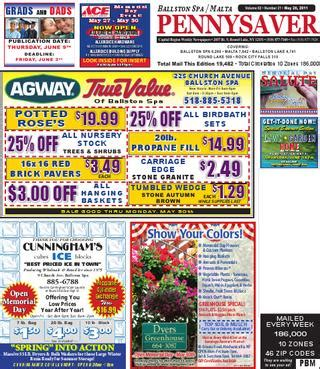 hannaford memorial day hours malta ballston spa pennysaver 052611 by capital region weekly newspapers issuu