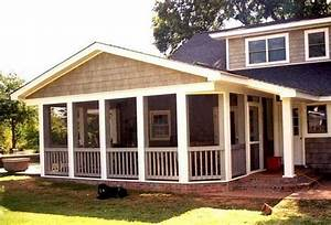 Covered Back Porch Designs Charlotte Screen Porch and