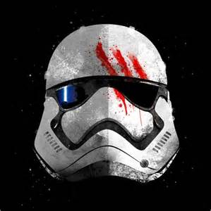 Full Size Star Wars Bedding by Star Wars 7 Stormtrooper Finn Bloody Helmet