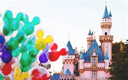 Mickey Mouse Disneyland Balloons Paris Colorfull Anime