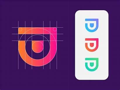 Grid Dribbble Icon Letter Save Symbol