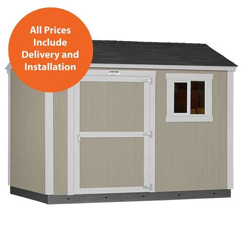 Home Depot Tuff Shed Promotion by Tuff Shed Installed Tahoe 8 Ft X 10 Ft X 8 Ft 6 In