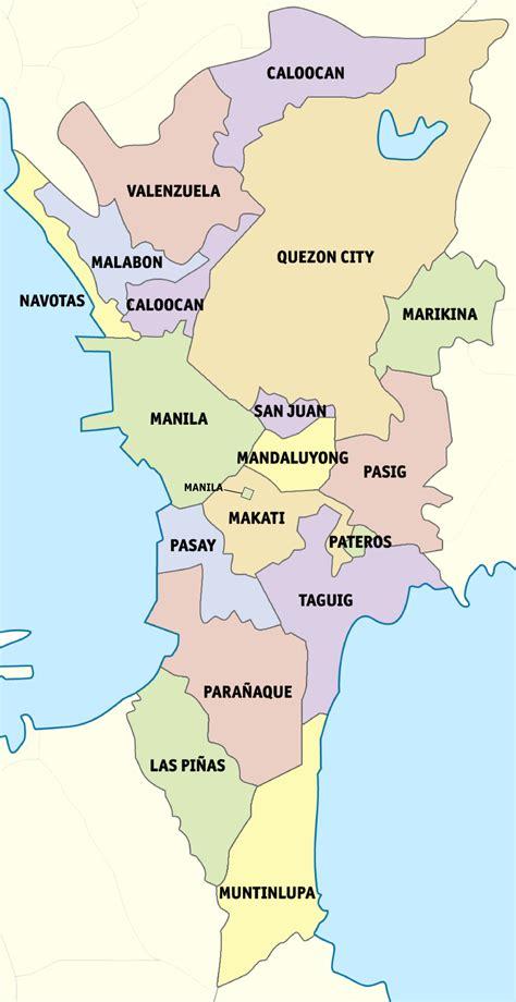 outline  metro manila wikipedia