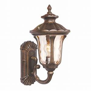 shop livex lighting oxford 155in h moroccan gold outdoor With moroccan outdoor wall lights uk