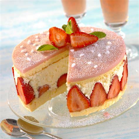 fraisier classique recette sur cuisine actuelle